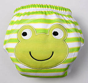 Frog Training Pants/Diaper Cover