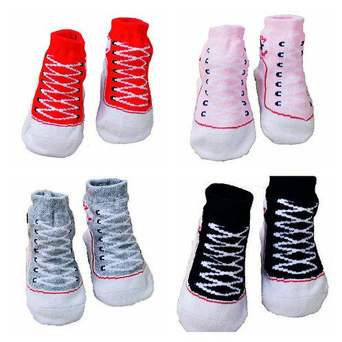 Pack of 4 Converse Sneaker Socks