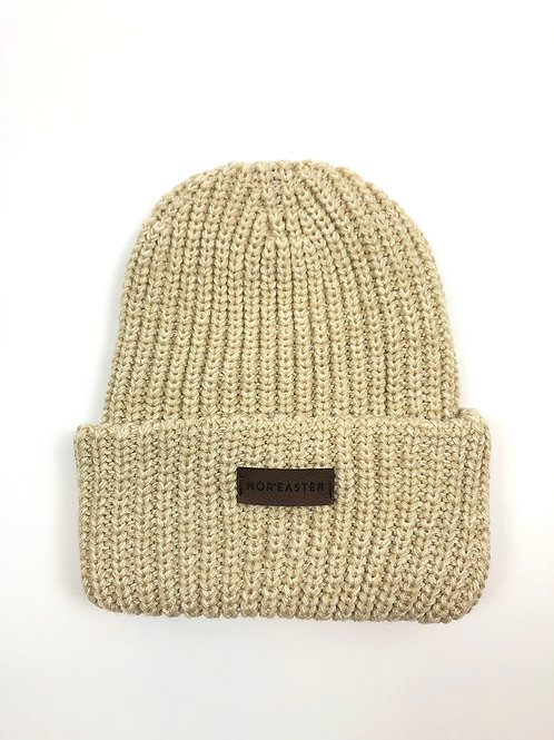 Chunky Knit Oatmeal Toque