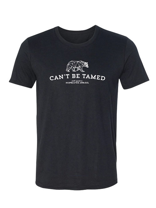 Mens Can't Be Tamed Crew Neck Tee Shirt