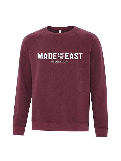 Vintage Crew Neck Fleece Sweater