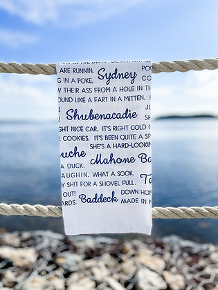 Far-Far-Away-Maritime-Slang front view in white and navy