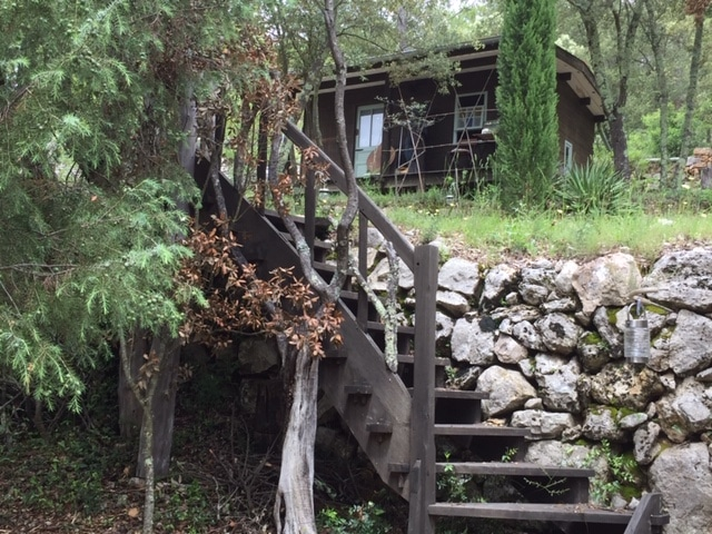 escalier-cabane