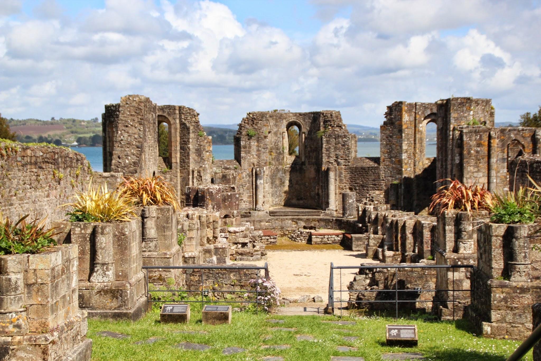 Landévennec_Vestiges de l'ancienne abbaye
