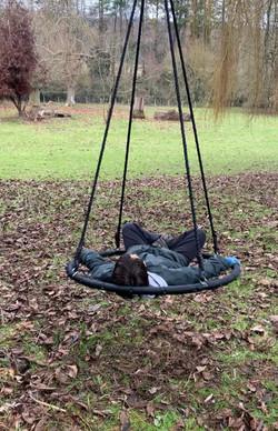 swing in arboretum pic