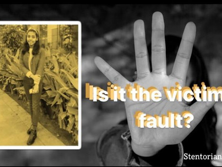 Was It The Victim's Fault?
