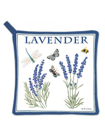Lavender Design Pot Holder