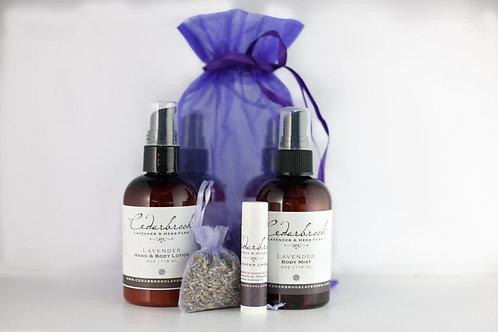 Cedarbrook Lavender Essentials Gift Set