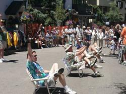 Vail Lawn Chair Drill Team