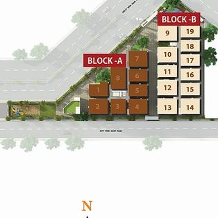 Block B Key Plan