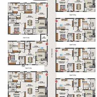 Block B Typical Floor Plan