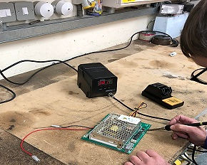 Industrial Electrical work, Industrial electrician