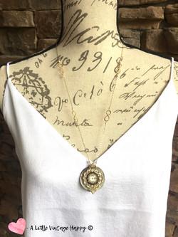 Classic / Repurposed Vintage Necklace