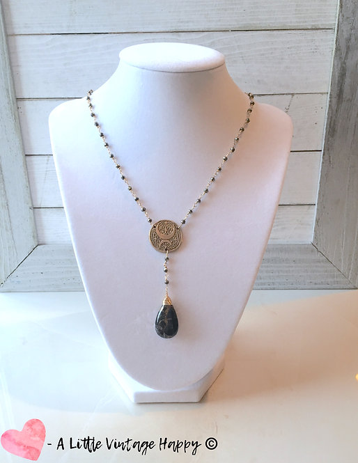 Moonlight in the Darkness Necklace