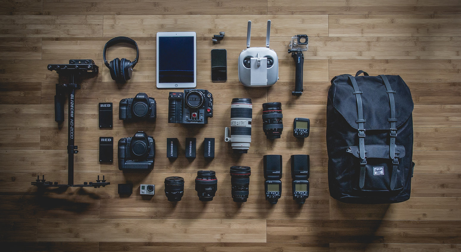 Everything a Professional Photographer needs.