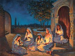 The Hour Draws Nigh (5 virgins)