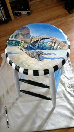 Murano puppy stool