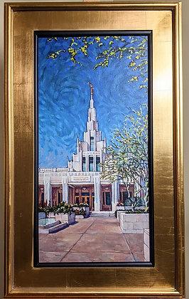 Phoenix Temple framed giclee