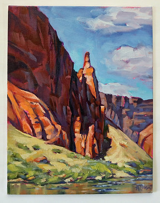 Finger Rock on the Colorado River