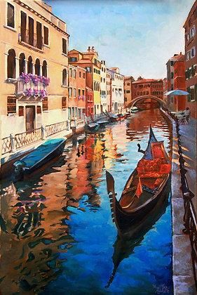 """""""Venice Reposo"""" Giclee"""