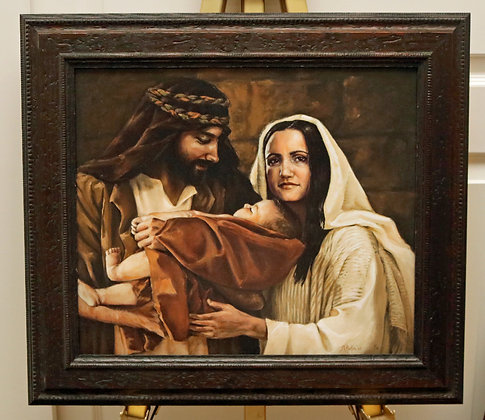 (Mary) large framed giclee