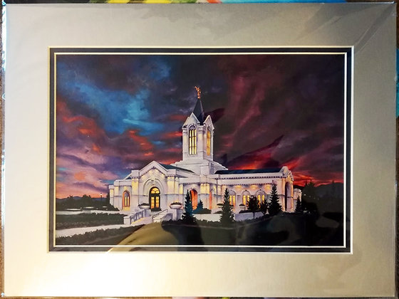 Ft Collins print (matted giclee)