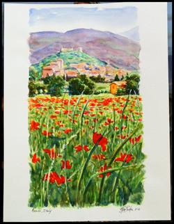 Assisi watercolor