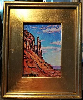 Sentinel Mesa, Monument Valley