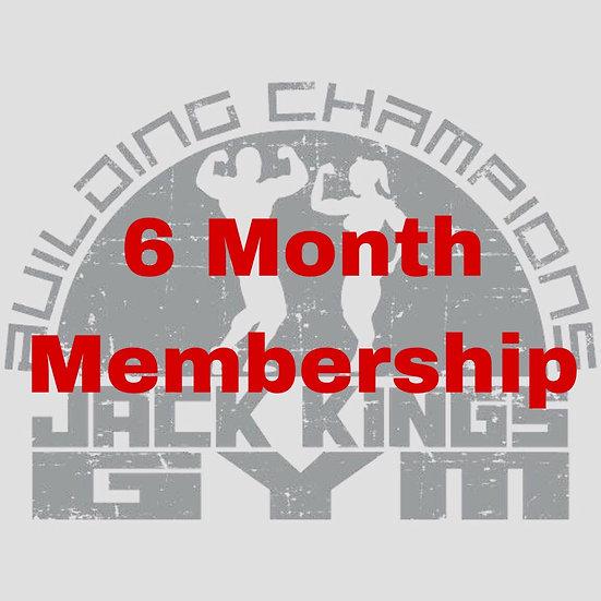 6 Month Membership Renewal