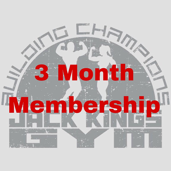 3 Month Membership Renewal