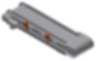 Дозирующий конвейер с рифленой окантовко