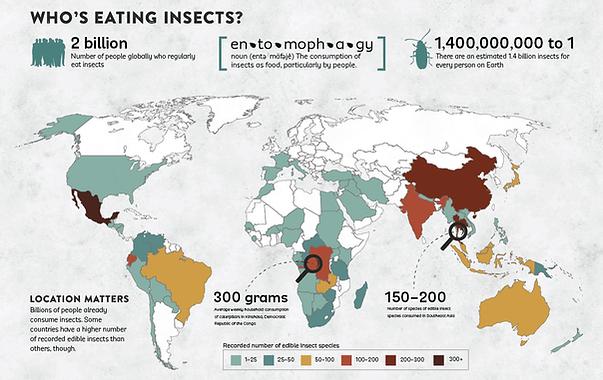 entomophagy heatmap