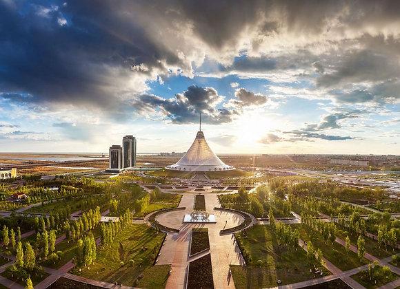 Almaty with Chimbulak