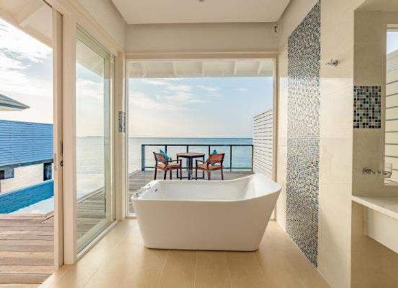 Sun Siyam Olhuveli Maldives 3 Nights in Grand Beach Villa