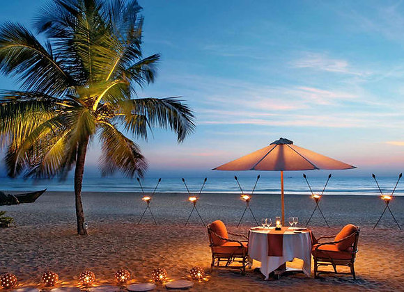 5 Star Luxury Goa at Leisure with Dinners
