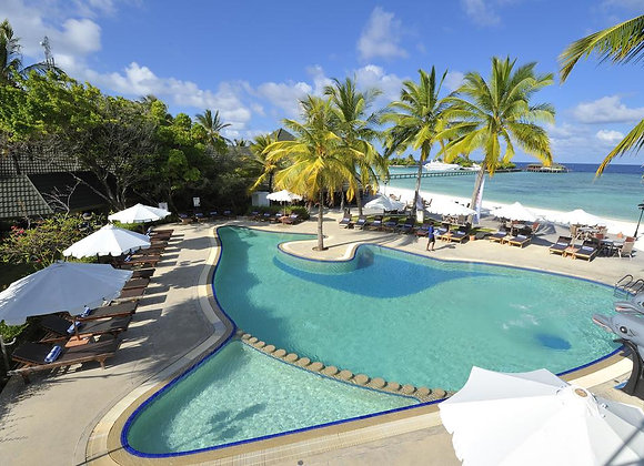 Paradise Island Resort 3 Nights in Jacuzzi Water Villa