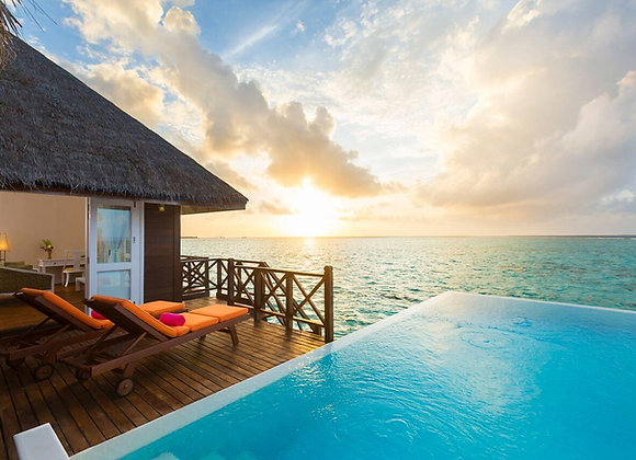 Sun Siyam Vilu Reef 3 Nights in Sun Aqua Pool Villa