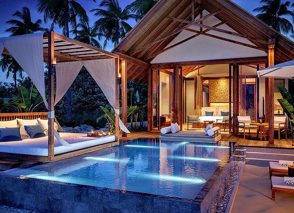 Furaveri Resort 3 Nights in Ocean Pool Villa