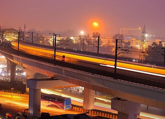 Noida with Ghaziabad