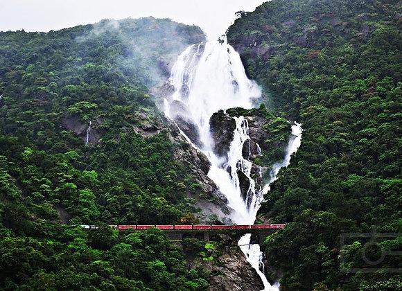 Goa Budget Holiday with Dudhsagar