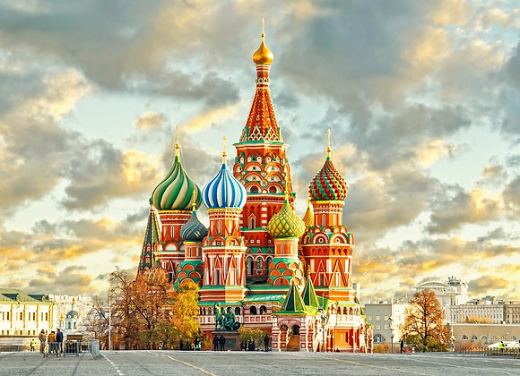 Moscow & ST. Petersburg with Neva River Cruise