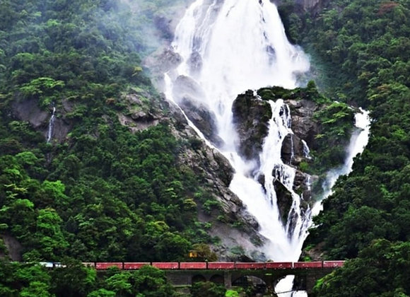 Luxury Goa with Dinners and Dudhsagar