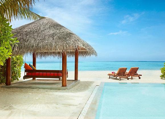 Sun Siyam Vilu Reef 3 Nights in Deluxe Beach Villa