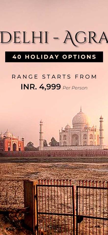 Delhi Agra Offers
