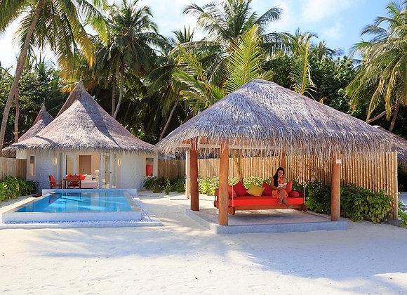 Sun Siyam Vilu Reef 3 Nights in Beach Villa