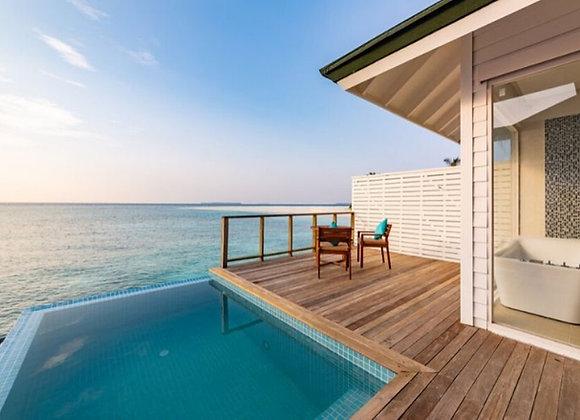 Sun Siyam Olhuveli Maldives 3 Nights in Grand Water Villa