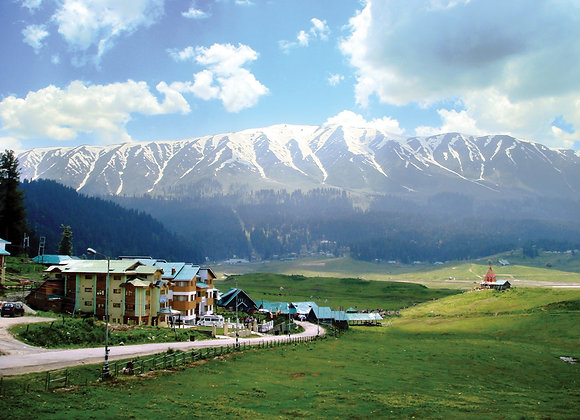 Srinagar with Gulmarg and Pahalgham
