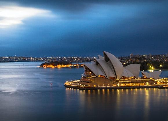 Australia with Melbourne