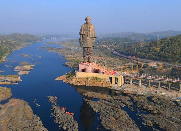 Vadodara With Statue Of Unity