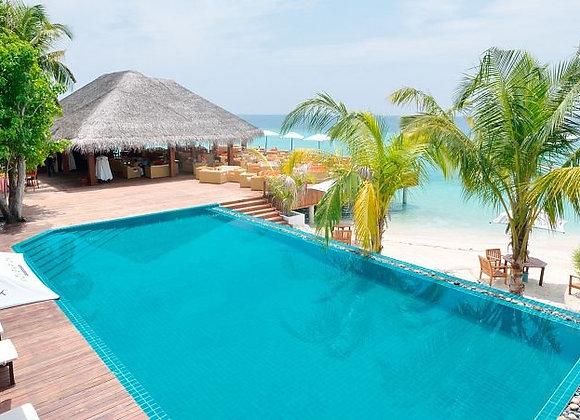 Eriyadu Island Resort 3N Deluxe Beach Villa & 1 N in Sea View Sky Room